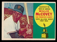 BB 60T #316 Willie McCovey Rookie