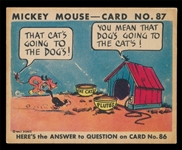 NS 1935 R89 Mickey Mouse #87 That Cat's